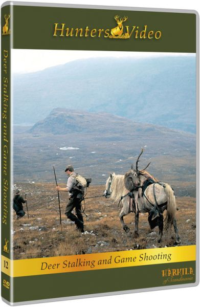 Hunters Video, Jagderlebnisse in Schottland, DVD, Poul Erik Madsen, Rothirsch, Sikahirsch, Gänse