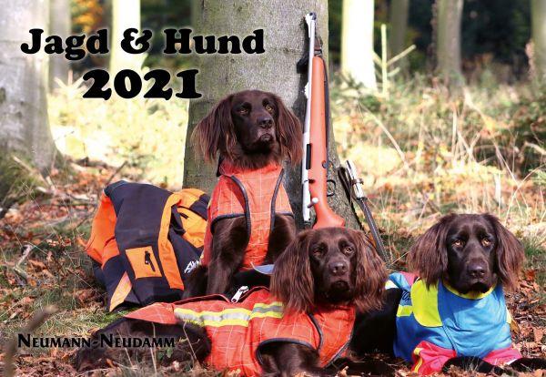 Kalender Jagd und Hund 2021, Kalender 2021, Jagdkalender 2021
