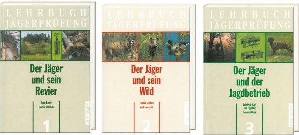 Buchpaket, Jägerprüfung, Jungjägerausbildung, Jagdschein, Jagdscheinanwärter,