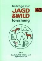 Beiträge zur Jagd-und Wildforschung 43