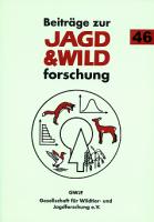 Beiträge zur Jagd-und Wildforschung, GWJF, Jagdkultur, Bd. 46
