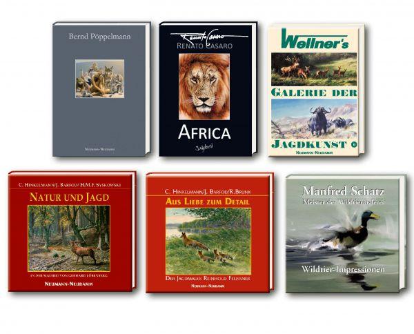 Jagd,Kunst,Paket,Buch,