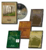 Büffel, Büffeljäger, Selous, Afrika, Tansania