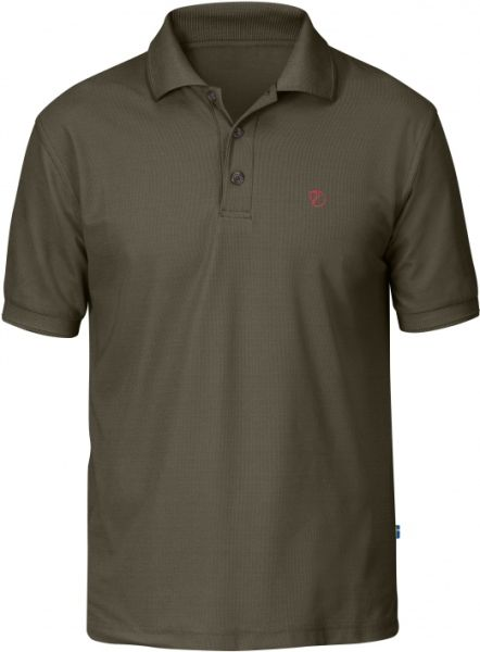 FJäll Räven Polo-SHirt , Crowley Pique , Shirt , Kurzarm