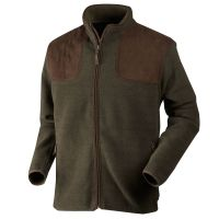 William II Fleecejacke Pine Green, Fleecejacke, Herrenfleccejacke,Seeland,