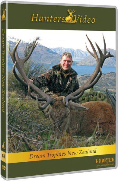Hunters Vidseo, Traumtrophäen in Neuseeland, DVD, Auslandsjagd, Neuseeland, Trophäenjagd,