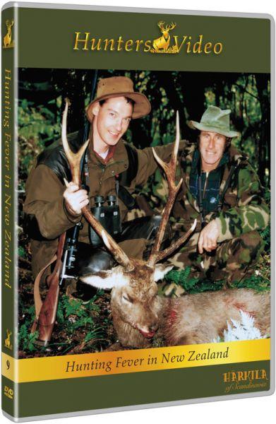 Hunters Video, DVD, Jagdfieber in Neuseeland, Rothirsch, Sikahirsch, Tahr, Gams, Wieldziege,