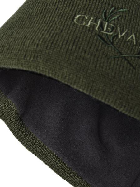Strickmütze, Chevalier, grüne Mütze, Wintermütze, Kopfbedeckung