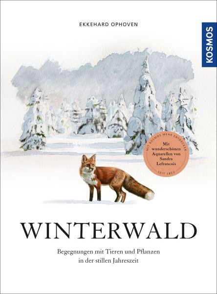 Winterwald, Ophoven, Naturbuch, Winter