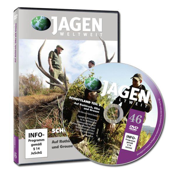 Jagden Weltweit,Jagd-DVD, DVD, Schottland, Jagen in Schottland