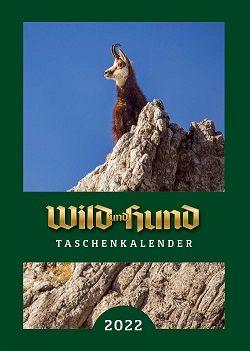 Taschenkalender, Wild und Hund-Kalender, Kalender 2022