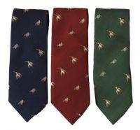 Laksen Krawatte Motiv Schnepfe