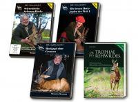 Paket Bockjagd, Rehwild, DVD,